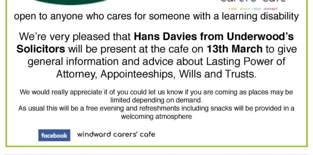 Tuesday 13th March- WW Cafe and Social