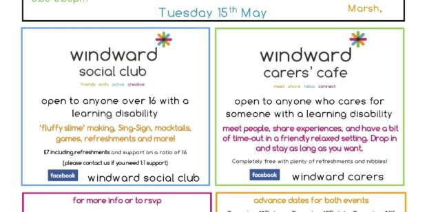 Social Evening & Carers Café- 15th March